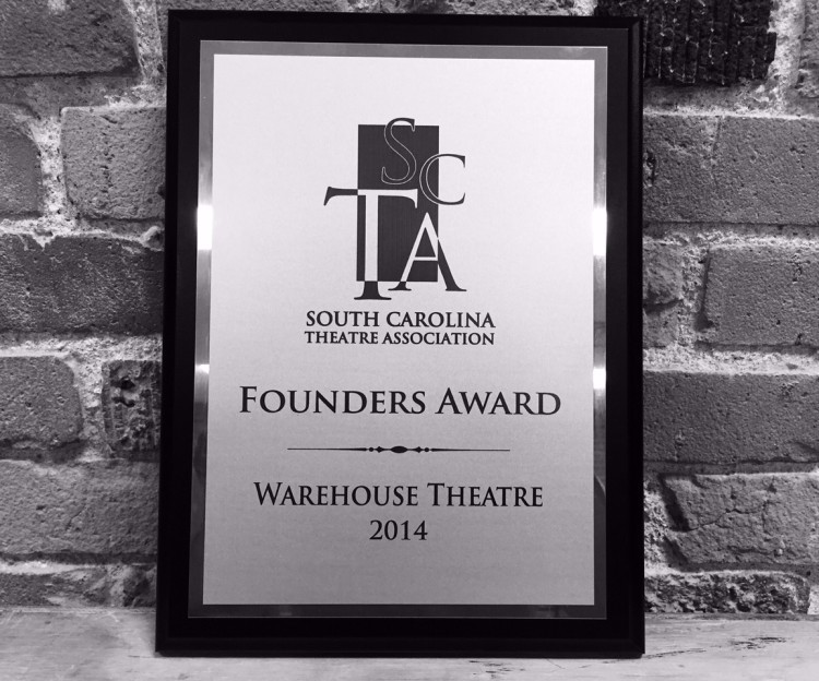 SCTA Honors The Warehouse Theatre with Founders Award