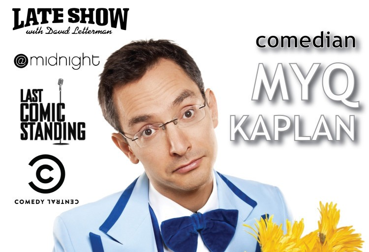 Letterman Comedian Myq Kaplan Tuesday, June 23rd