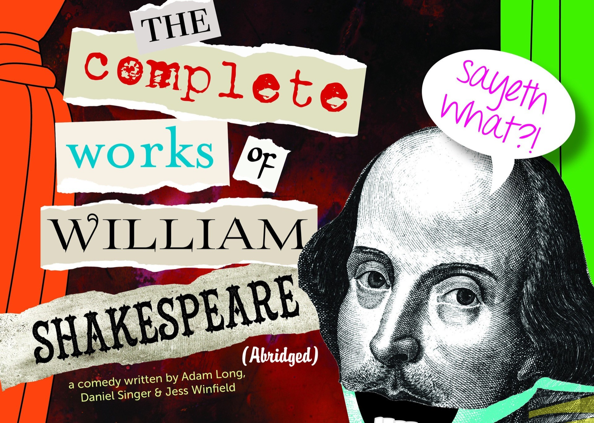 the complete works of william shakespeare The complete works of william shakespeare abridged – trinity theatre's fall  show join these madcap men in an irreverent, fast-paced romp.