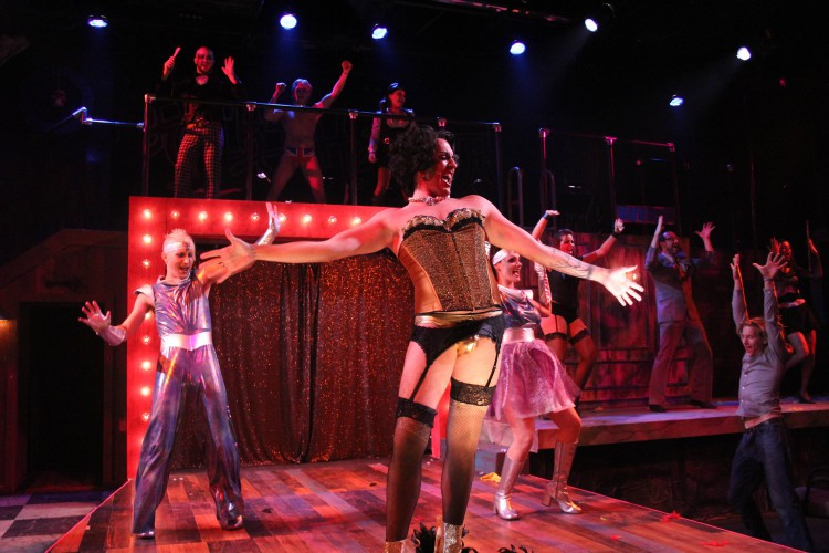 Greenville News Review:  Rocky Horror a Rockin' Romp at The Warehouse