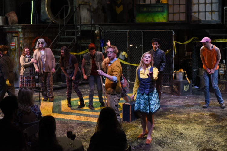 Review:  Warehouse Stages Dynamite Urinetown