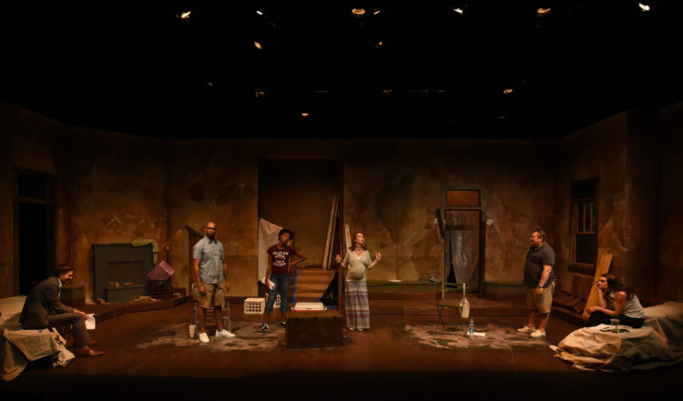 REVIEW:  Warehouse Theatre Delivers Again in Tantalizing 'Clybourne Park'