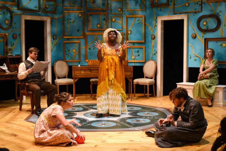 BWW REVIEW:  Bright and Funny New Adaptation of Pride and Prejudice at The Warehouse Theatre